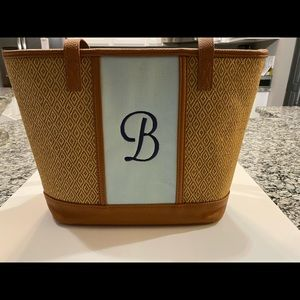 Thirty-one straw tote